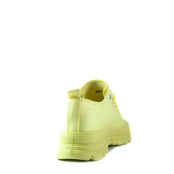 Кеды женские Sopra 2833 желтые