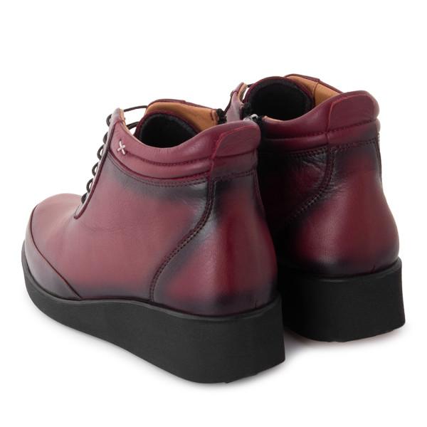 Ботинки женские EDIK MS 22824 бордовый