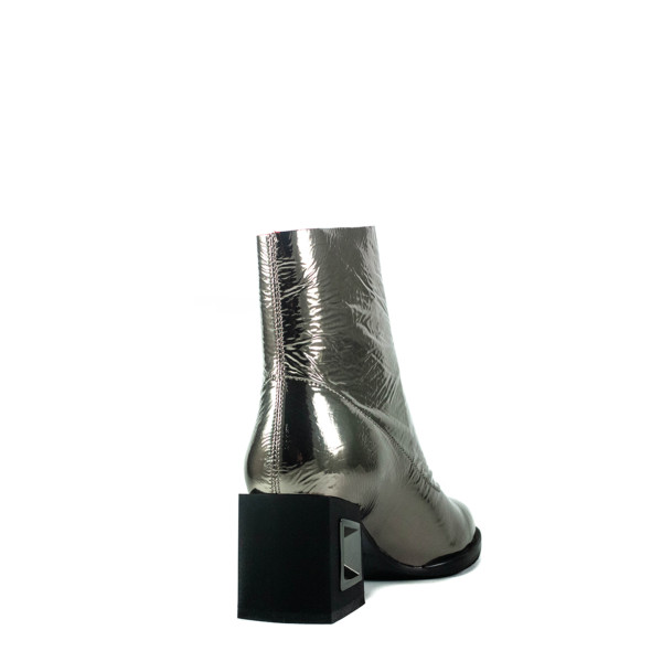 Ботинки демисезон женские Anna Lucci C5-Z327-7388YH металлик