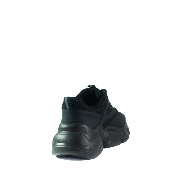 Кроссовки демисезон женские Lonza JL2759-1 черные