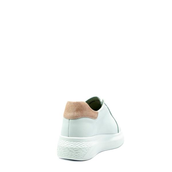 Кроссовки демисезон женские Bonavi 92VN22-115 бело-розовые