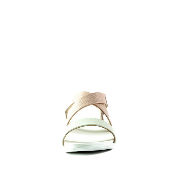 Босоножки женские летние Lonza 341 розово-бежевые