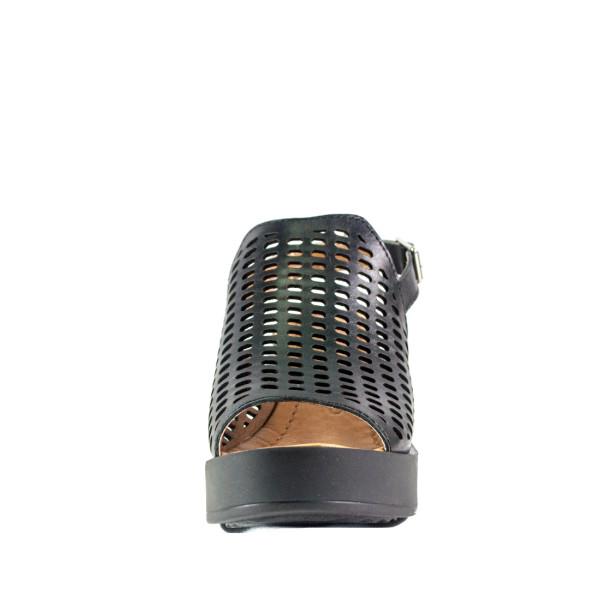 Босоножки женские Lonza L-1755-2466-6KM черные