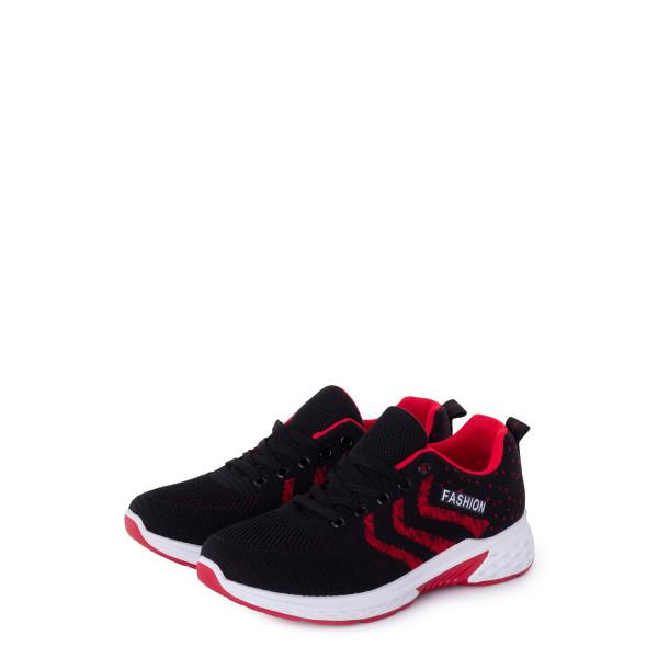 Кроссовки женские Standart MS 23073 черный, красный