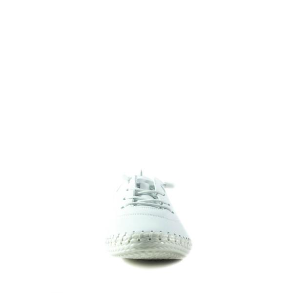 Мокасины женские Lonza 1003 белые
