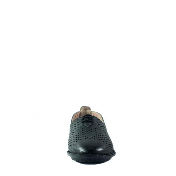 Мокасины женские Lonza 1011 черные