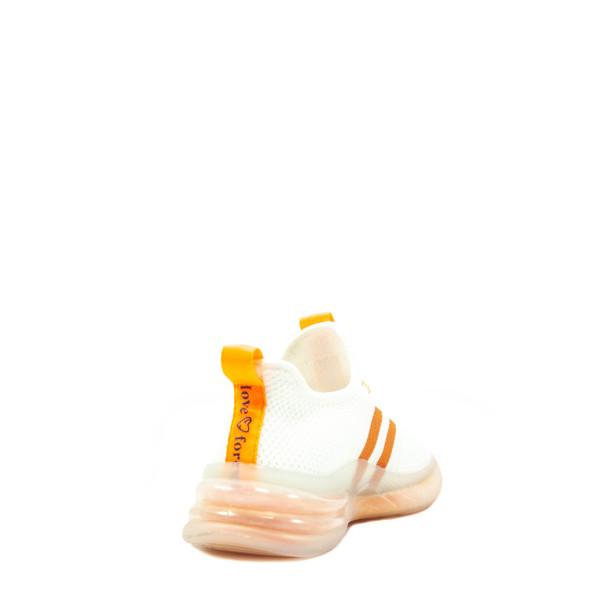 Кроссовки демисезон женские Bonavi 2W2-3-121 оранжевые
