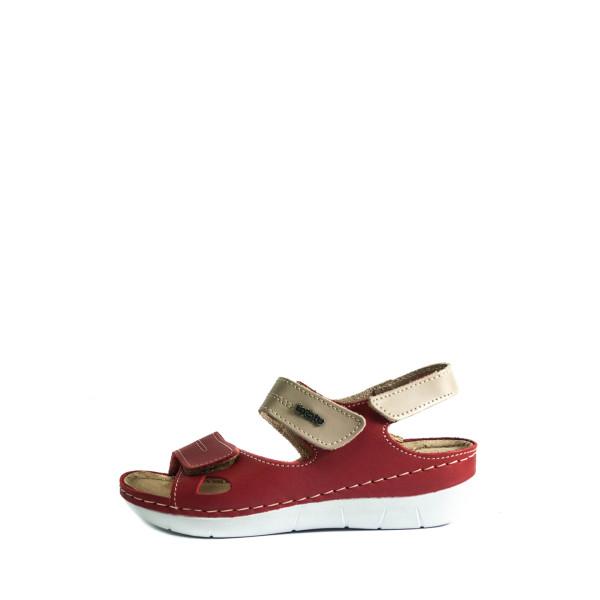 Босоножки женские летние Inblu CB-1E красные