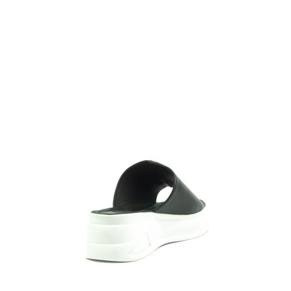 Сабо женские Number 22 L-21906-2498L черно-белые