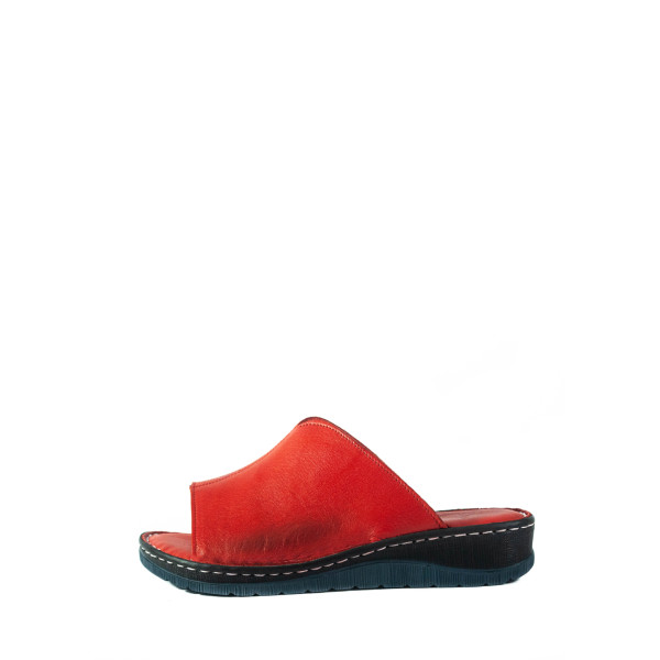 Сабо женские Lonza 2040 красные