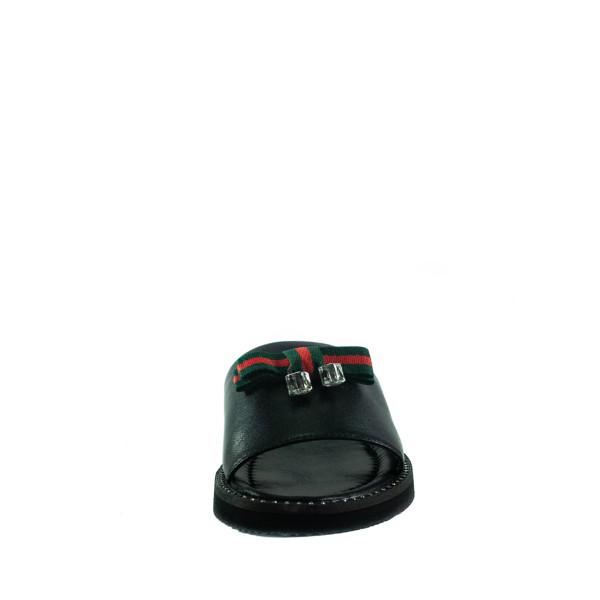 Шлепанцы женские Lonza L-2441-1847L черные
