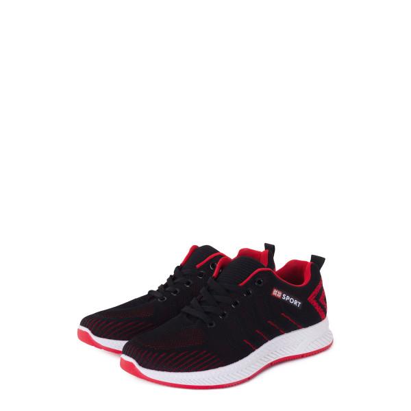 Кроссовки мужские Standart MS 23076 черный, красный