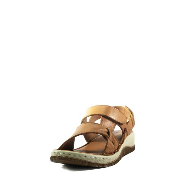 Босоножки женские летние Lonza 2071 коричневые