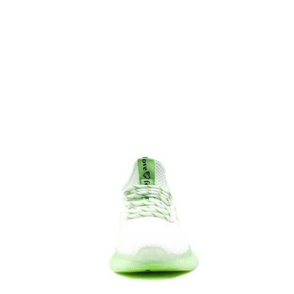 Кроссовки демисезон женские Bonavi 2W2-3-106 зеленые