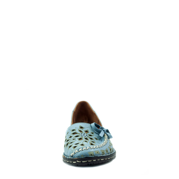Балетки женские летние Anna Lucci 1459-04 голубые