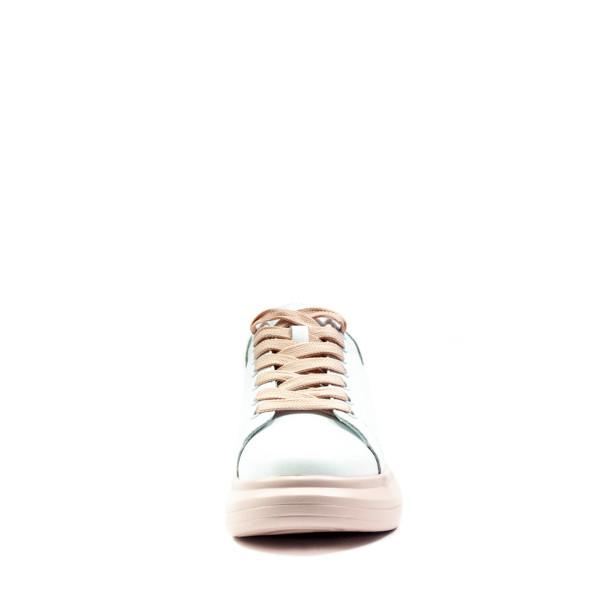 Кроссовки демисезон женские Bonavi 2F6-75-115 бело-розовые