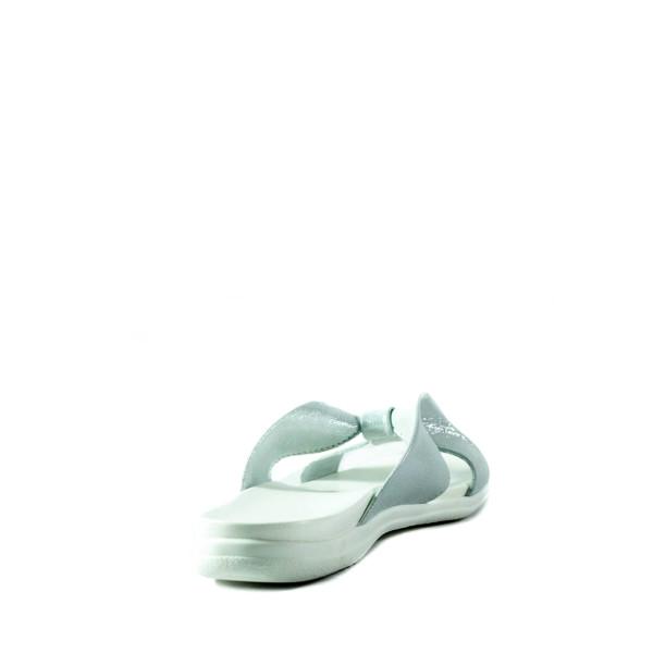 Шлепанцы женские Lonza 320 серебряные