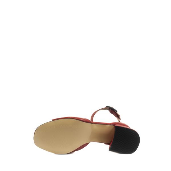 Босоножки женские летние Number 22 L-3247-2914-2L красные