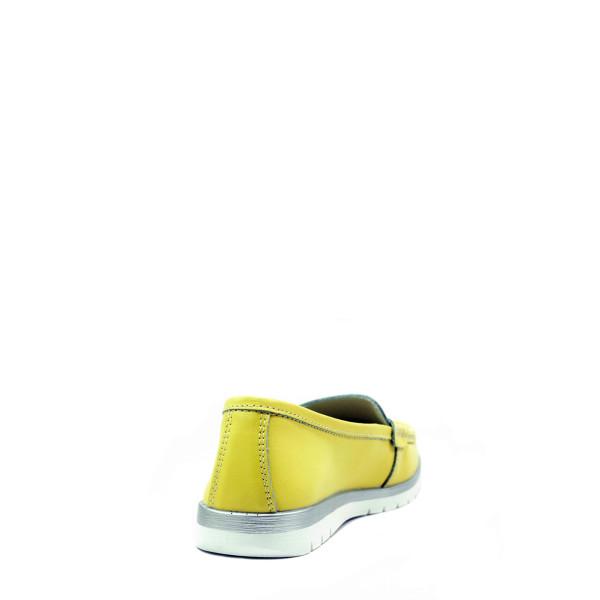 Туфли женские Bonavi 92FC01-114 желтые