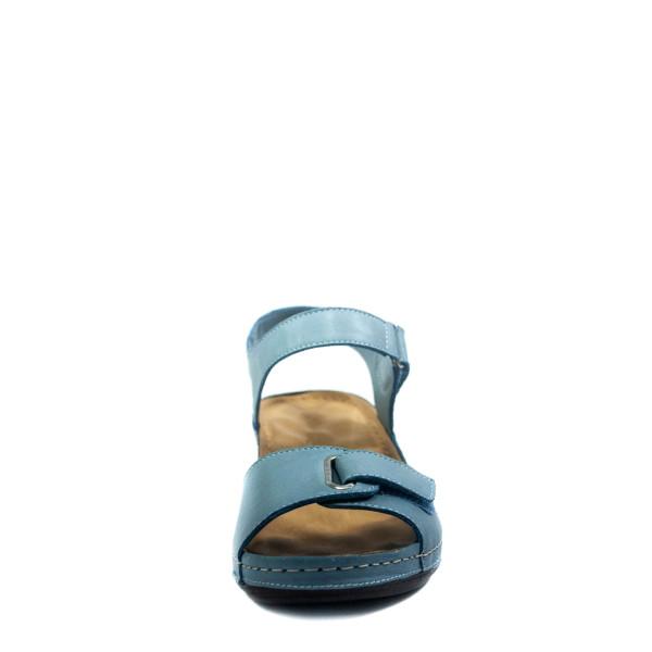 Босоножки женские летние Anna Lucci PLM26-39-43 голубые