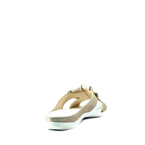 Шлепанцы женские Lonza 301 светло-коричневые