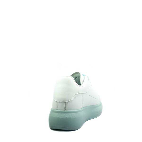Кроссовки демисезон женские Bonavi 2F6-75-112 бело-голубые