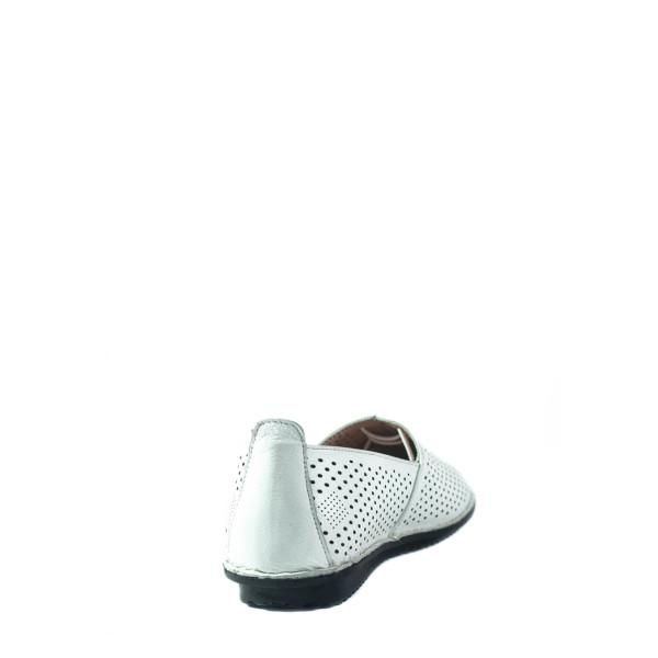 Мокасины женские Lonza 1011 белые