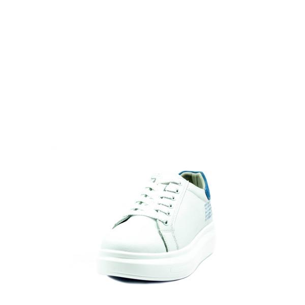 Кроссовки демисезон женские Bonavi 92VN22-102 бело-синие