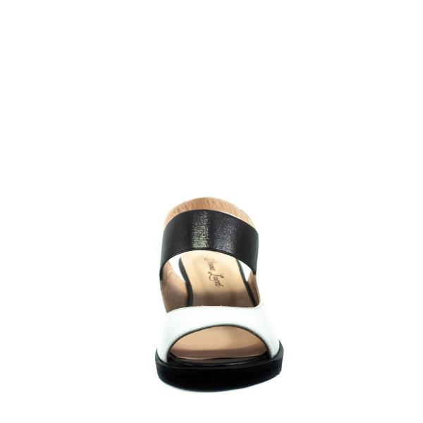 Босоножки женские летние Anna Lucci 05-D2 черно-белые