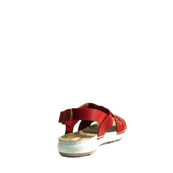 Босоножки женские летние Inblu EA-1C красные