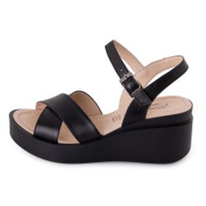 Босоніжки жіночі Footstep чорний 23521