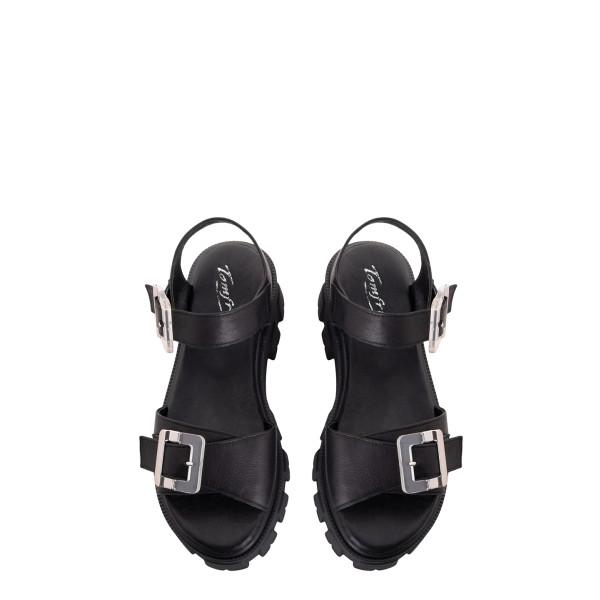 Босоножки женские Tomfrie MS 23404 черный