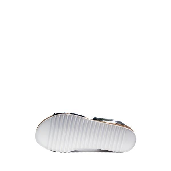 Босоножки женские летние Inblu VO-4E бело-синие