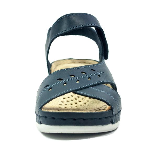 Босоножки женские летние Inblu 36-1C темно-синие