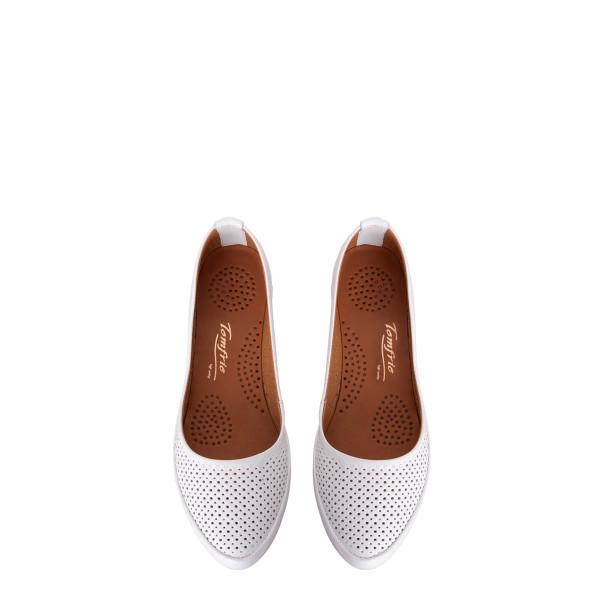 Балетки женские Tomfrie MS 23499 белый
