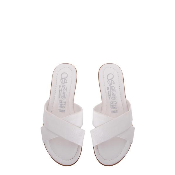 Шлепанцы женские S.Zrez MS 23506 белый