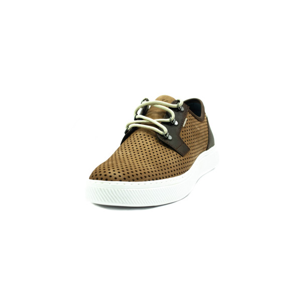 Кроссовки летние мужские Clubshoes 104П коричневые