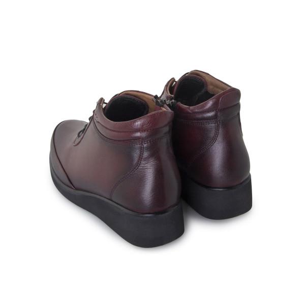 Ботинки женские Без ТМ MS 24260 бордовый