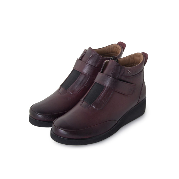 Ботинки женские Без ТМ MS 24263 бордовый