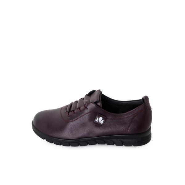 Туфли женские Hangao MS 24185 бордовый
