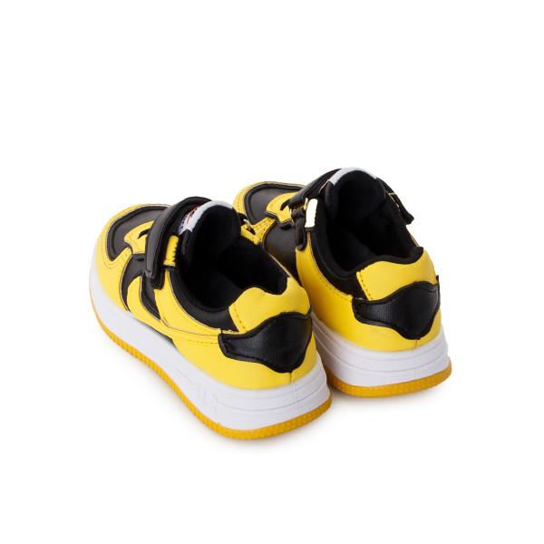 Кроссовки мужские Канарейка MS 24268 черный, желтый