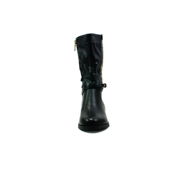 Ботинки демисезон женские SP Lion 1467-1 черные