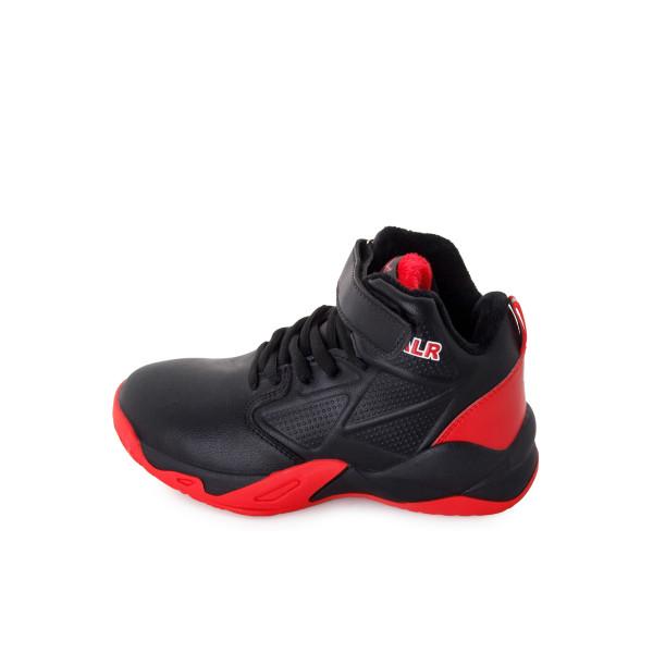 Кроссовки мужские Канарейка MS 24199 черный, красный