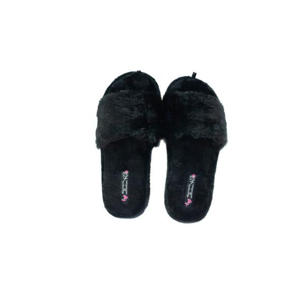 Тапочки комнатные женские Home Story 211036-Е черные