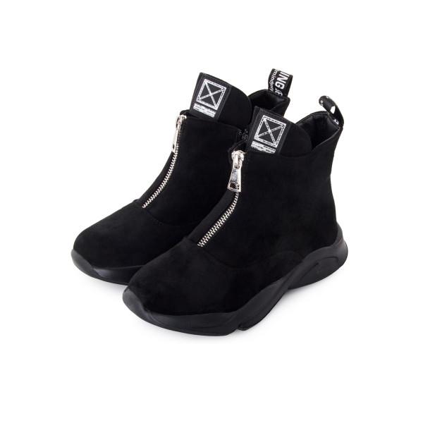 Черевики жіночі Kimboo чорний 24201