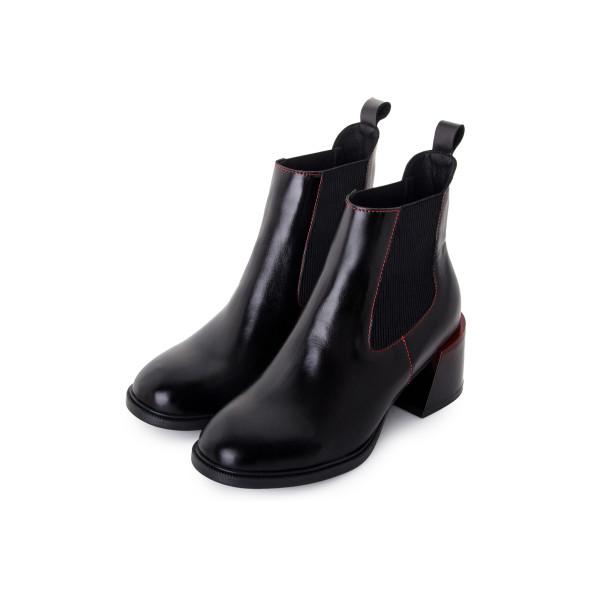 Черевики жіночі Tomfrie чорний 24225