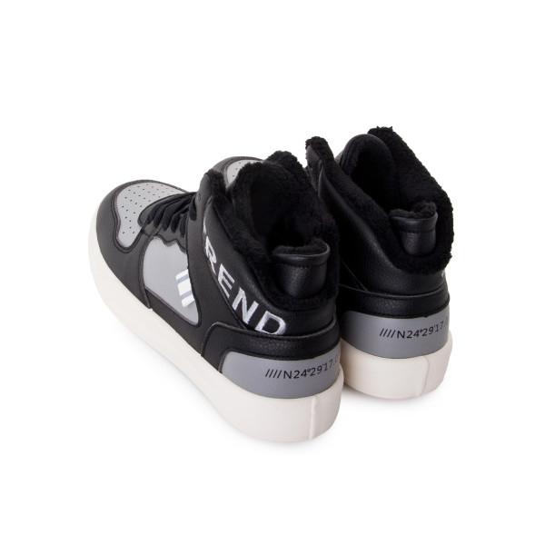 Ботинки женские Standart MS 24233 черный, серый