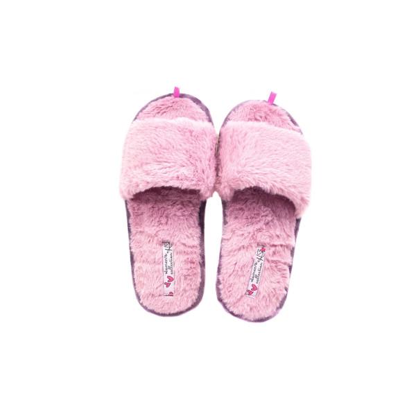 Тапочки кімнатні жіночі Home Story рожевий 24247