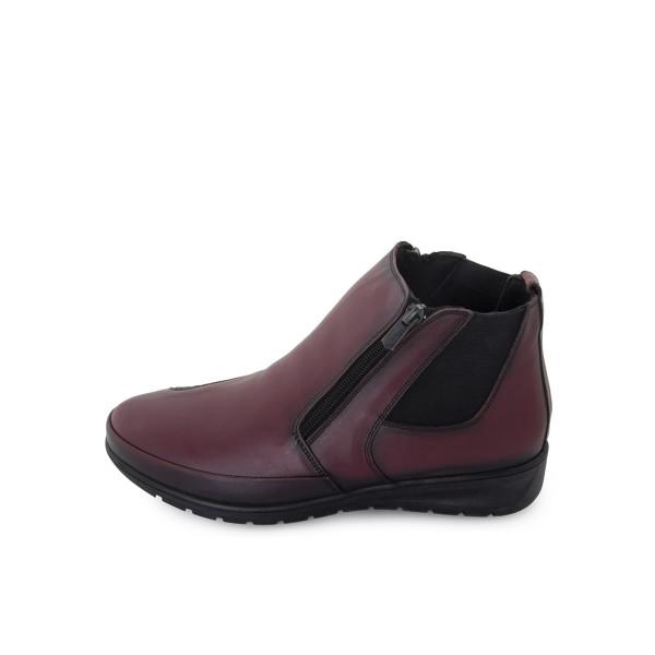 Ботинки женские Brenda MS 24045 бордовый