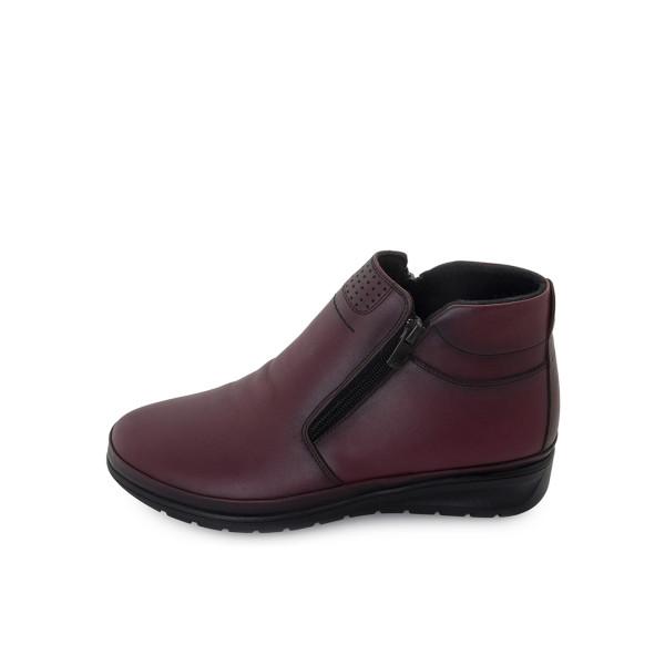Ботинки женские Brenda MS 24046 бордовый